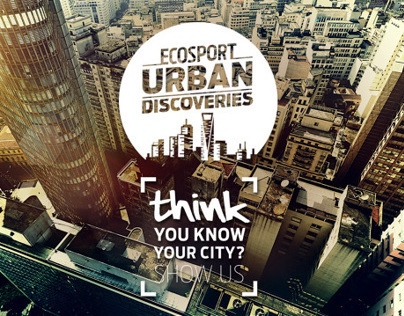 Urban Discoveries - Ford EcoSport