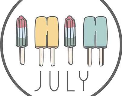 popsicles in july
