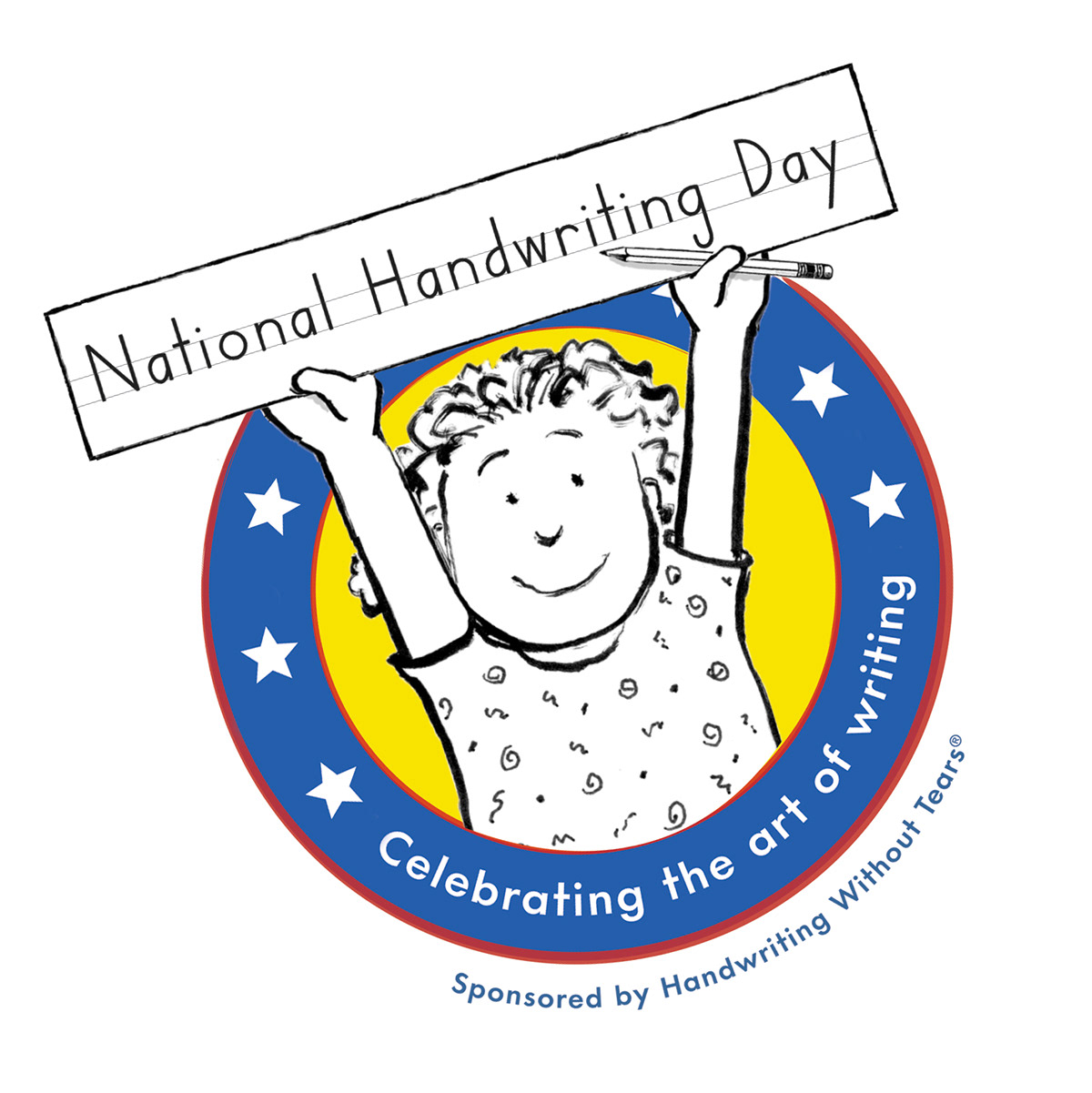 National Handwriting Day Logo