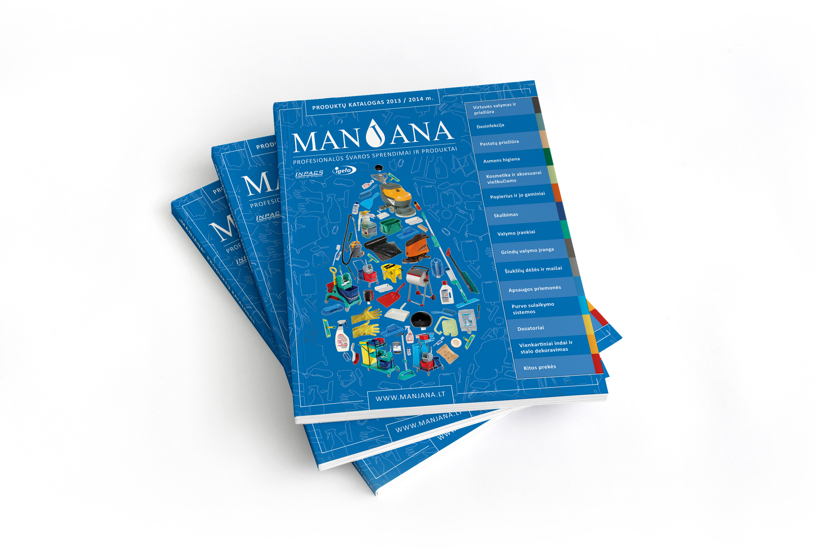 MANJANA Catalog 2013-2014 design