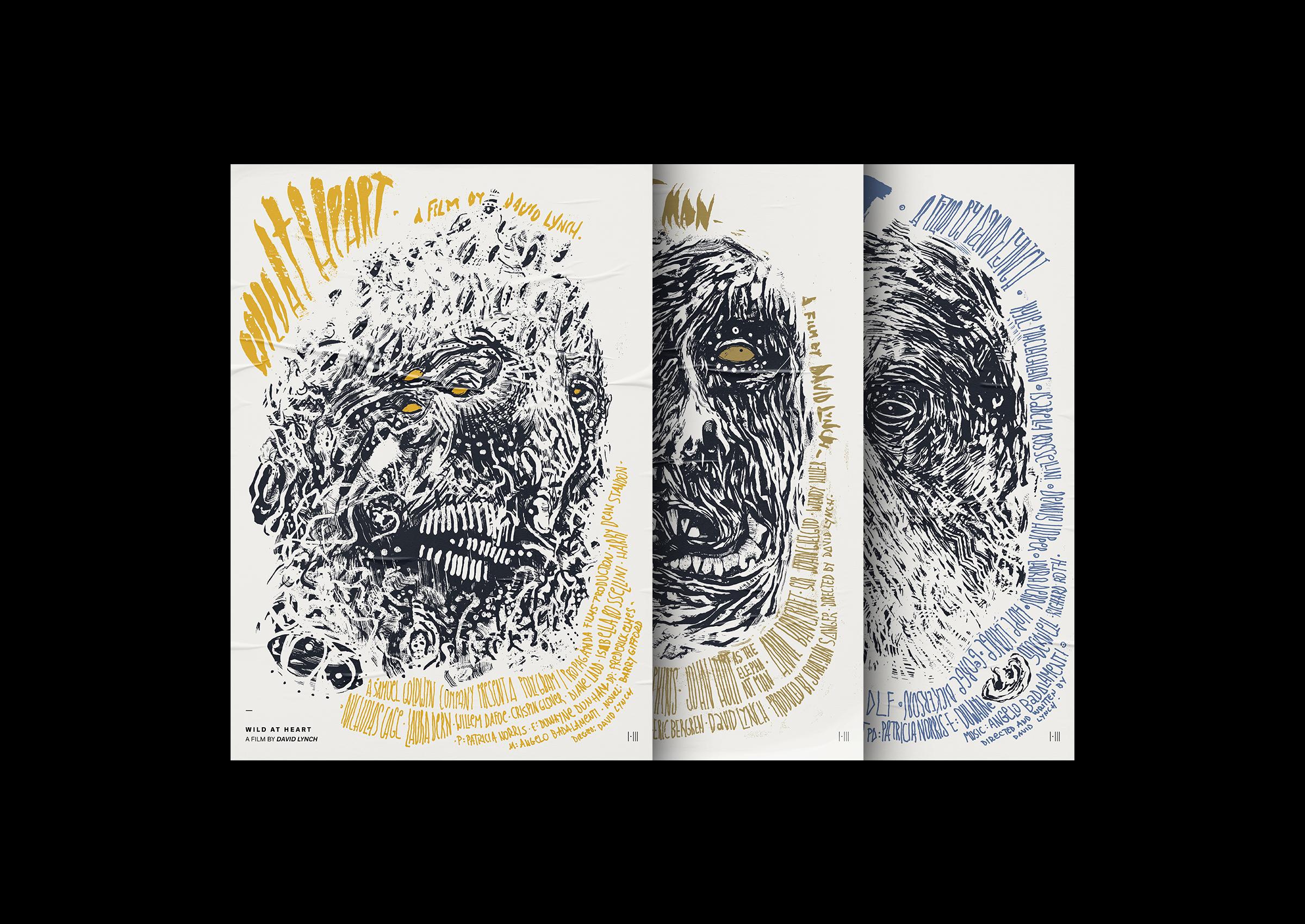 David Lynch Film Posters