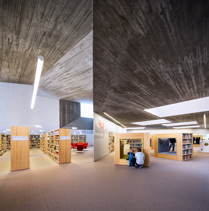 Finnish architecture - Seinäjoki library