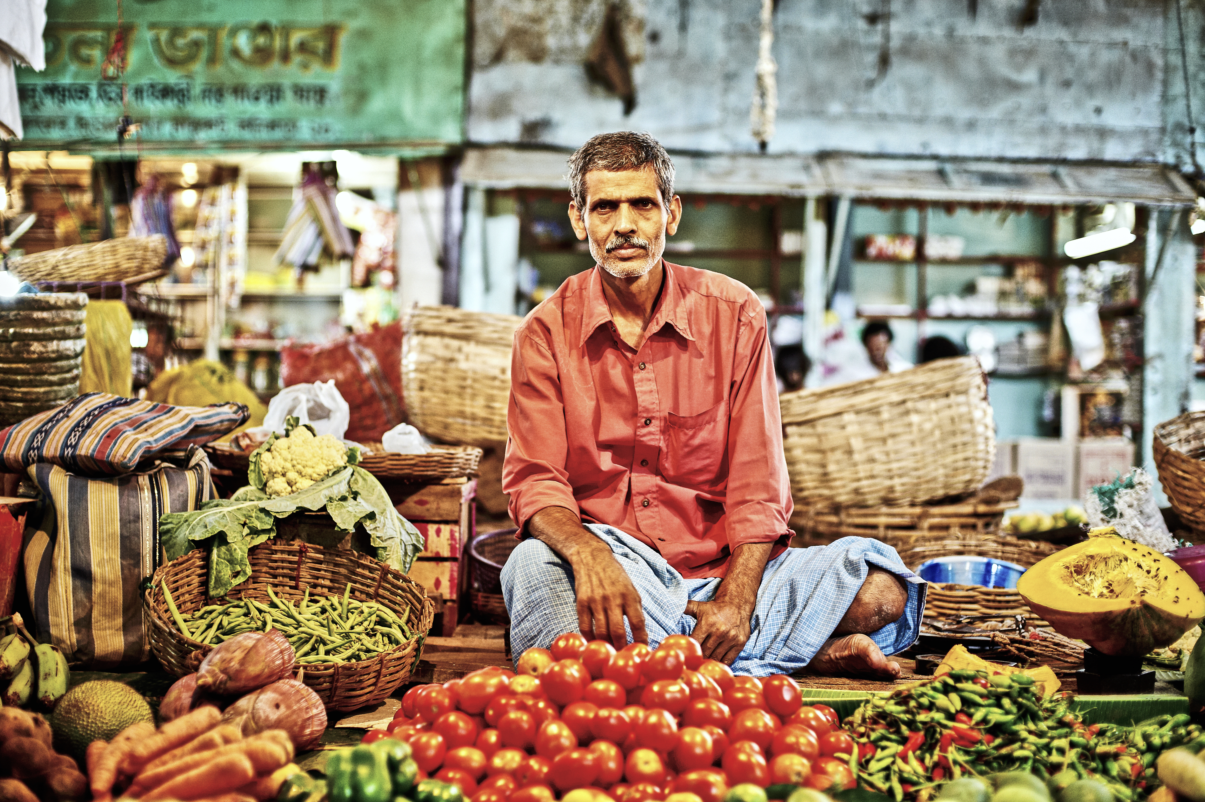 workers of India / Market Day