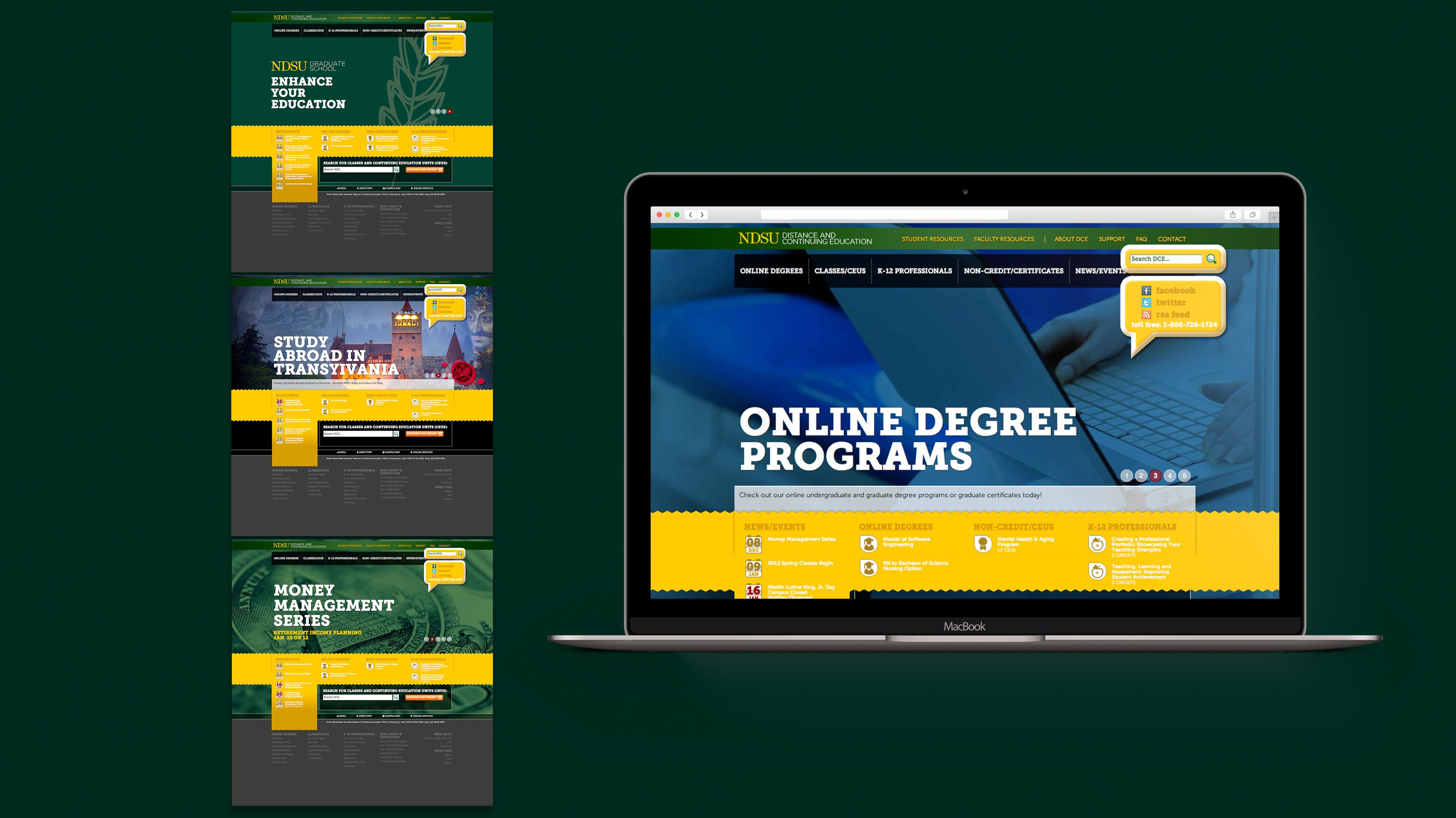 NDSU DCE Website
