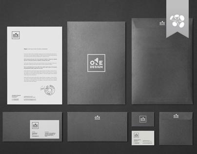 Logo // One Design // Gestalt Theory