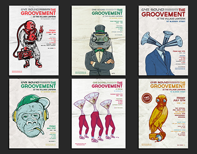 The Groovement Flyers