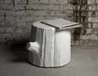 Soft Tree Trunk Stool