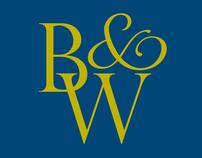 Black & Wade - Logo Design