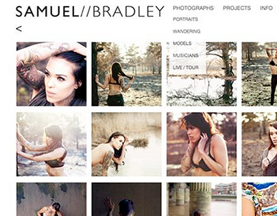 NEW Samuel Bradley Photography Website