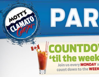 Motts Clamato: Party Guide