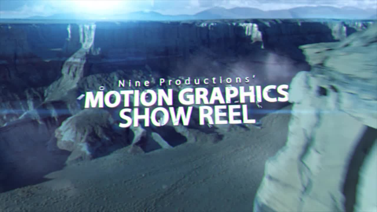 Nine Productions MOTION GRAPHICS Show Reel