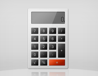 Elegant Calculator Icon