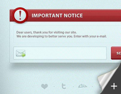 Important Notice Box