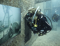 Life Below The Surface - An Underwater Art Exhibition