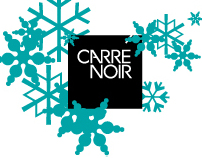 Carré Noir Xmas Greeting