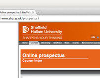 Sheffield Hallam University: Course Finder