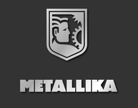 Logotype for «Metallika» company