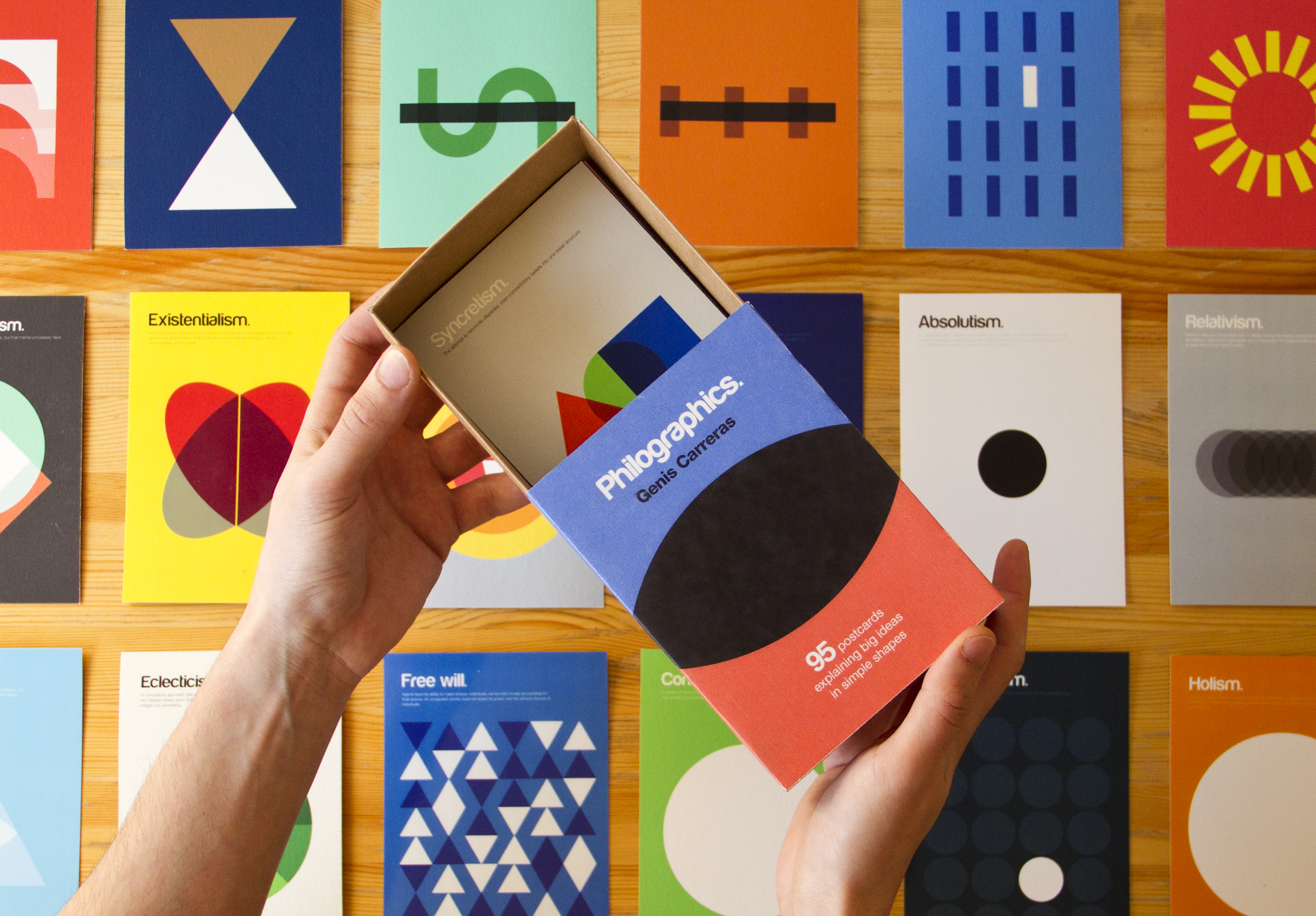 Philographics Book + Postcard Box on Kickstarter!