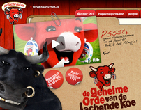 Online platform design for The Laughing Cow