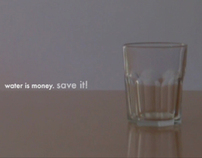 water is money. save it!