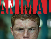 CANELO for ANIMAL magazine