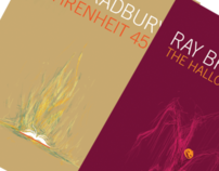 [PRINT] Ray Bradbury - Book Cover Designs