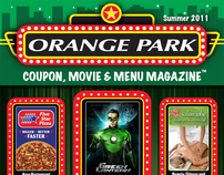 OP Coupon, Movie & Menu Magazine #1