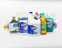 Clorox B2B Site Design