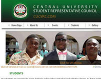 Central University SRC  Website