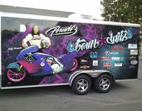 Trailer Wrap Design for Jody Perewitz