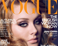 Vogue UK - Adele - Sølve Sundsbø