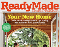 ReadyMade – June/July 2011 Cover & Feature