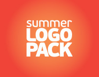 Summer logo pack