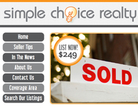 Web Design: Simple Choice Realty