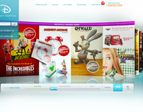 Disney Shopping Concept Site 2008