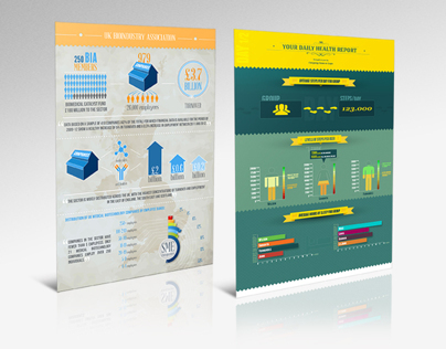 Infographics for clients