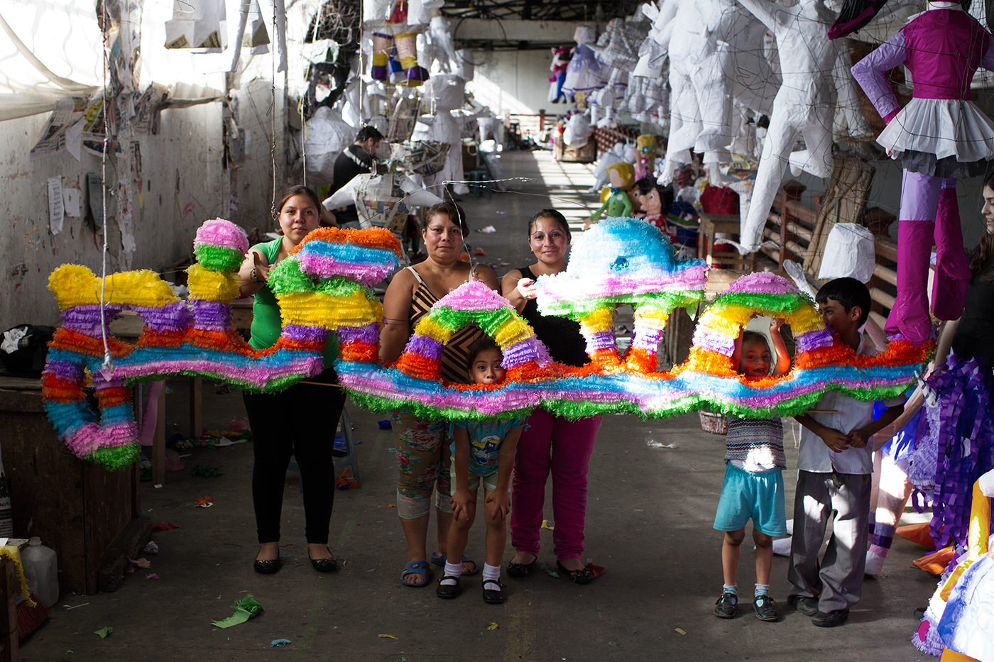 Tribute to the word Piñata