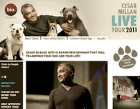 Cesar Millan Live Tours Website