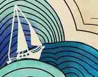 Sea Fever Gig Poster