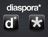 Diaspora icon design