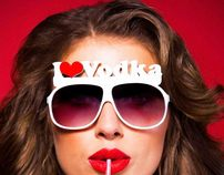 Revolution I LOVE VODKA Campaign