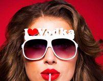 Revolution I LOVE VODKA Campaign