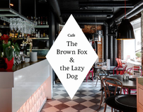 The Brown Fox and the Lazy Dog cafe website