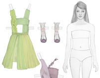 RODARTE PAPER DOLLS FOR LULA
