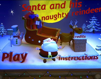 Santa and his naughty reindeer (indie game)