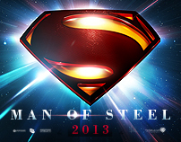 Superman : Man Of Steel (2013) Teaser Poster