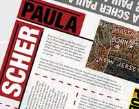 Paula Scher Homage Broadside