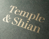 Temple & Shian x-mas card / unfinished