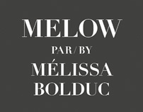 MELOW FALL-WINTER 2011 LOOKBOOK