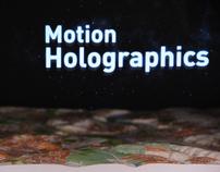 Motion Holographics